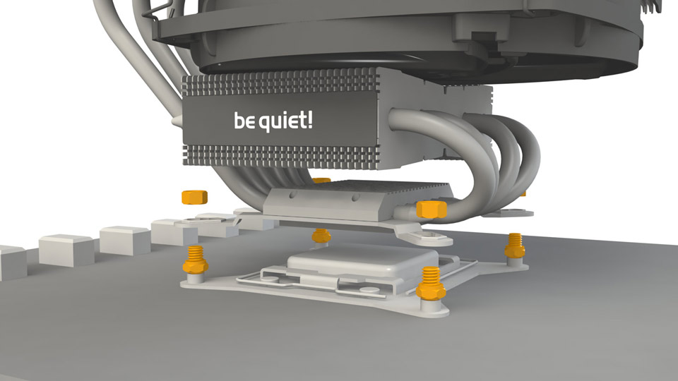 bequiet visual concept, visualization, CGI rendering for user manuals